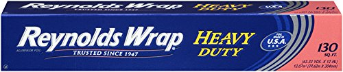 Aluminium Foil - Reynolds Wrap Heavy Duty Aluminum Foil (130 Square Foot Roll)