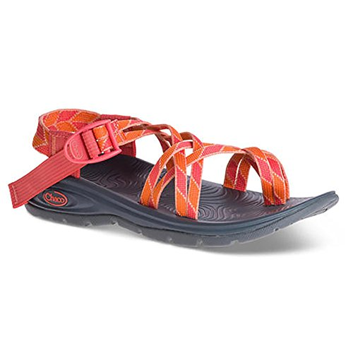 Chaco Damen Zvolv X2 Athletic Sandale Verdure Pfirsich