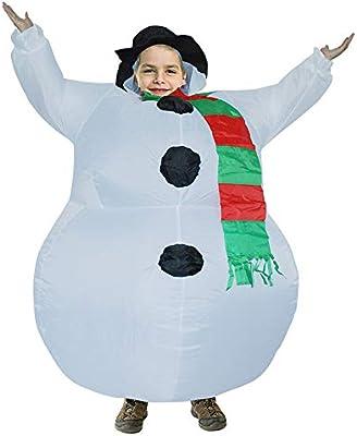 Liqiqi Disfraz Hinchable Navidad Uniforme Carnaval Divertido ...