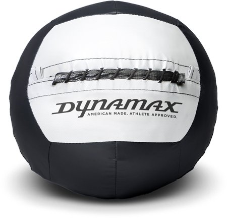 Dynamax 25lb Soft-Shell Medicine Ball Standard Black/Grey