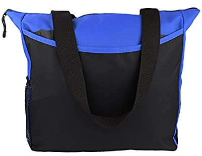Tote Bag 17 Inches Travel Shopping Business Handle Carrier by MakExpress