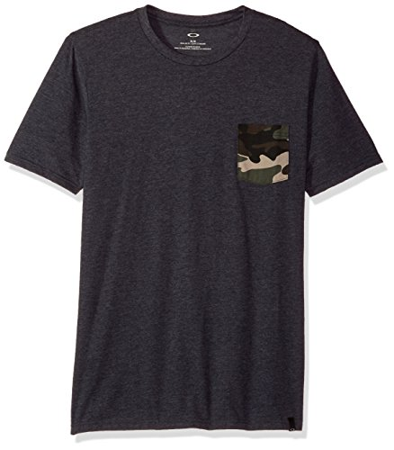 Oakley Men's 50-camo Pocket Tee, Blackout LT HTR, Large, used for sale  Delivered anywhere in USA
