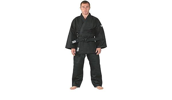 KWON tenue de judo, modérée 190 training noir: Amazon.es ...