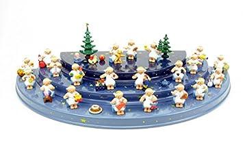 Wendt Und Kühn Weihnachtsbaum.Wendt Und Kühn Set50 21 Margeritenengel Mit Weihnachtsbaum Und
