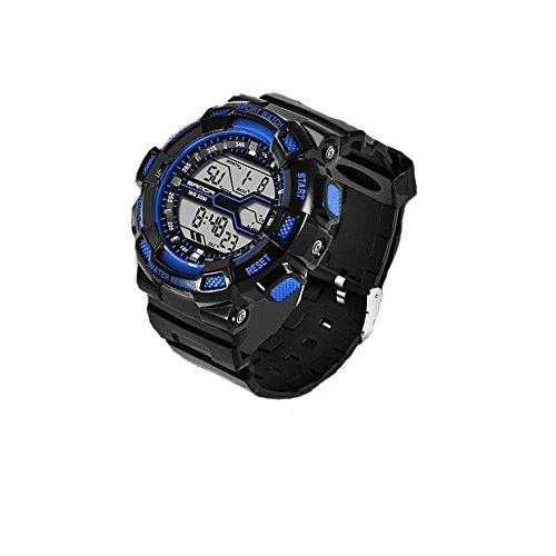 Reloj de niño adolescente,Deportes acuáticos deportes al aire libre reloj electrónico digital de múltiples funciones de diseño de moda-C: Amazon.es: Relojes