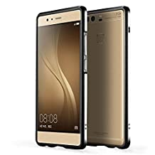Dulaxie TM} For Xiaomi 4 4s 5 Case Highlight Ultra Thin Metal Bumper Aluminium Frame Cover for Sony Z3 For oppo R9/R9 Plus For iphone 6/6s [ Black For iphone 6 ]