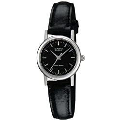 Casio Women's Leather watch #LTP1095E1A