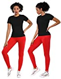 BUBBLELIME Athletic T-Shirts Workout Top for