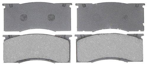 essional Grade Organic Disc Brake Pad Set ()