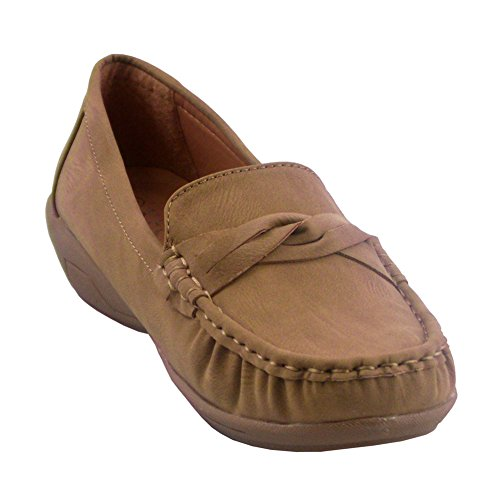 Blancho Kvinnor 6039-1 Fashion Flats Kamel