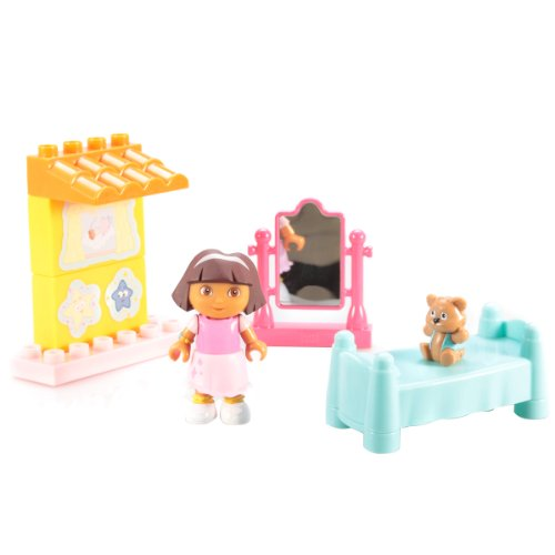 Megabloks Dora's Buildable Bedroom