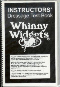 Instructors Dressage Test Book ()