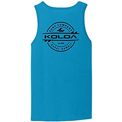 Joe's USA Koloa 2-Sided Thruster Logo Tank Tops in 27 Colors. Adult Sizes: S-4XL at  Men's Clothing store