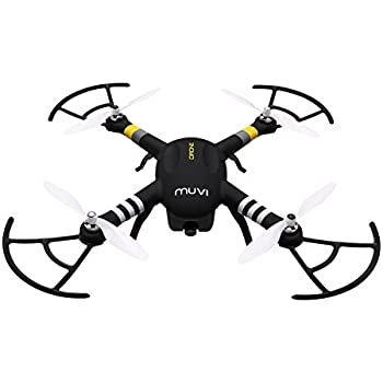 Veho Muvi Drone UAV Quadcopter with 1080p HD built in camera, Satellite Navigation and Live view APP
