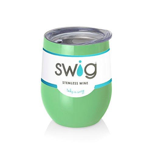 Mint Swig  Wine Tumbler