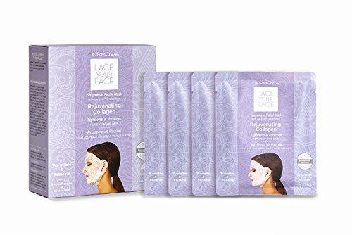 Dermovia Lace Your Face Rejuvenating Collagen Compression Fa