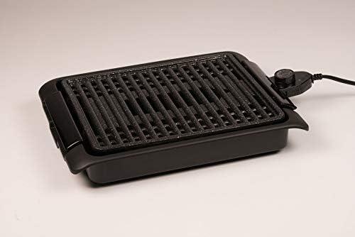 BEST DIRECT Starlyf Smokefree Original Comme Vu à la TV Grill Électrique sans fumée Outil de cuisine Grillade Barbecue intérieur Surface en grès