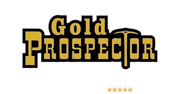 "ProSticker 603 One 2/"" x 6.5/"" Pink Prospector Decal Sticker Gold Panning"
