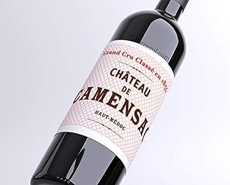 X24 Château de Camensac 2000 37,5 cl AOC Haut-Médoc 5ème Cru Classé Vino Tinto