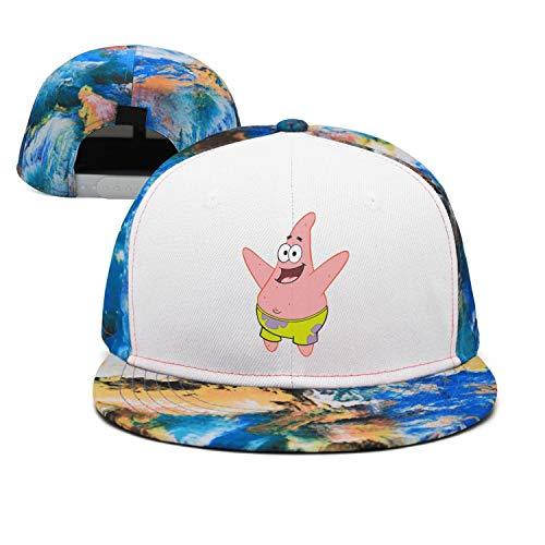 Man Spongebob-Squarepants-Patrick-Star- Snapback hat Trucker Hats Sports