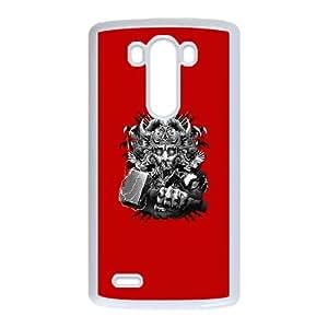 God of Thunder LG G3 Cell Phone Case White Erqel