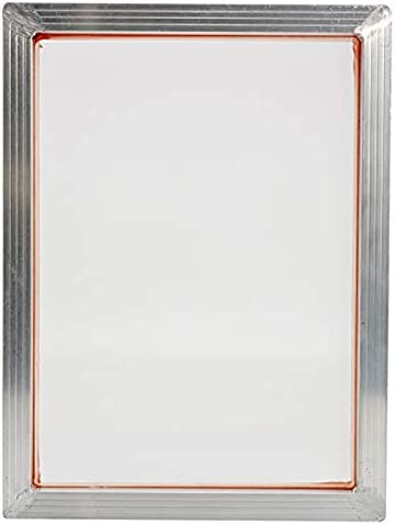 Gesh Siebdruck-Set 140T Siebdruck-Aluminiumrahmen Scharnierclip Grillwerkzeug-Teile-Set Emulsionsschaufel Beschichtung Maschine
