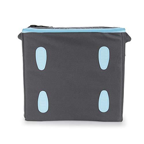 Munchkin Brica GoBoost Travel Booster Seat, Blue/Grey