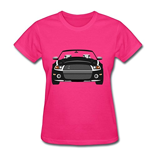 New Cotton Women T-shirts Mustang Shelby Gt500 Printed Fashion Short Xxx-large Sleeve