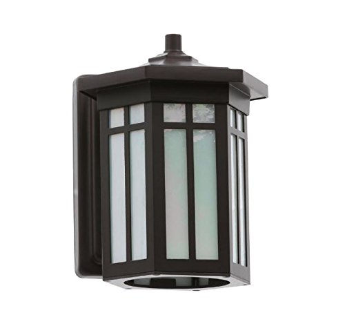 Home Decorators Collection Antique Bronze Outdoor LED Small Wall Light