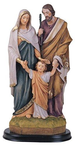 (George S. Chen Imports SS-G-212.07 Holy Family Jesus Mary Joseph Religious Figurine Decoration, 12