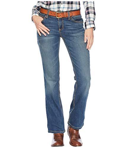 Wrangler Women's Retro Mid-Rise Mae Jeans Vintage Wash 9 36