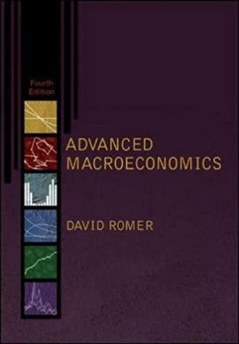 advanced macroeconomics the mcgraw hill series in economics rh amazon com Romer and Romer Christina Romer American Economic Review
