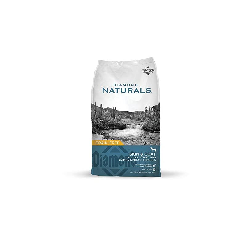 dog supplies online diamond naturals skin & coat real meat recipe natural dry dog food with wild caught salmon 30lb
