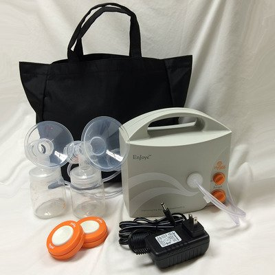 Hygeia EnJoye LBI Breast Pump, Black Bag, QTY: 1