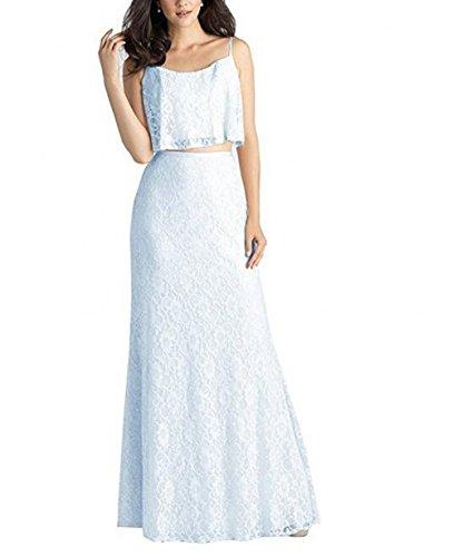 Leader of the Beauty - Vestido - para mujer azul claro