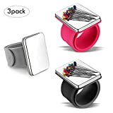 3 Pieces Magnetic Sewing Pincushion, Magnetic Pin