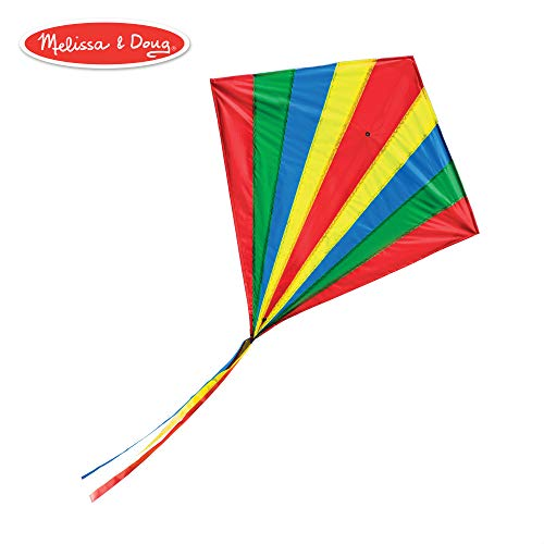 Melissa & Doug Spectrum Diamond Kite Children's Kite ()