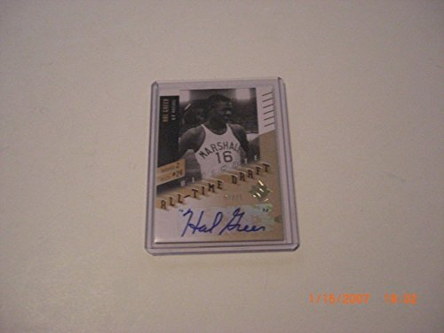 Hal Greer 2010 Ud Ultimate Collection All-time Draft Auto 07/75 Signed Card - Basketball Autographed Cards