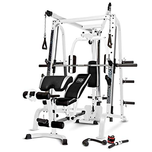 5. Marcy Smith Cage Diamond Workout Machine Total Home Gym System