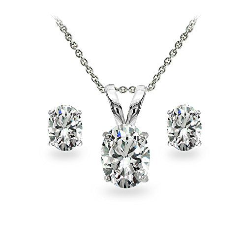 Cubic Zirconia Necklace : Accessories Jewelry - 6