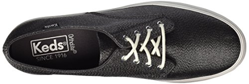 Lurex Shale Schwarz Tpl Bella Keds Mujer Zapatos qwgfRvz6