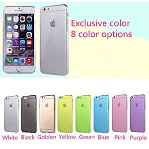 LCJ Ultra-thin Waterproof Transparent TPU Phone Case for iphone 5 iphone 5S(Assorted Colors) , Yellow