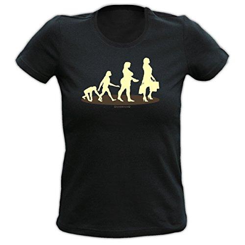 Fun T-shirt Homo Stupidus: Shopping Fb schwarz