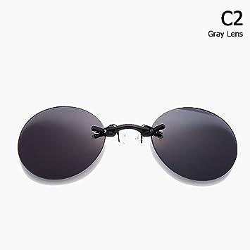 ZHOUYF Gafas de Sol Moda The Matrix Morpheus Style Gafas De ...