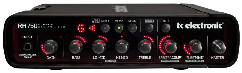 TC Electronic Bass Amplifier Head (990010011) (750w Bass Head)