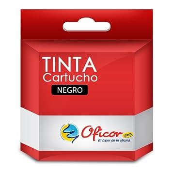 Cartucho de Tinta Oficor T0481 Negro genérico Compatible con ...
