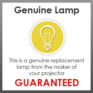 Replacement Lamp for BenQ MX850UST with Genuine Original Philips UHP Bulb and Housing