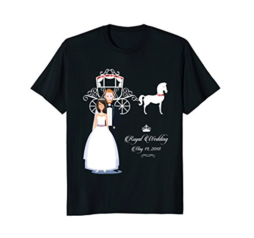 (Royal Wedding of Meghan Markle and Prince Harry T-Shirt Gift)
