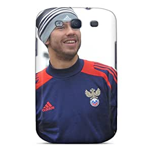 RCOZm4365-kWf Tpu Case Skin Protector For Galaxy S3 Russia Striker Fedor Smolov With Nice Appearance