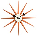 Cheap MLF Nelson Sunburst Clock, Orange